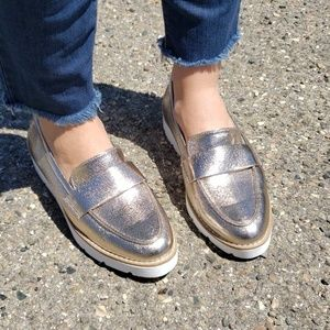 New day oxford style flat shoes size 9